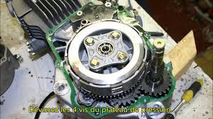démontage et montage de l u0027embrayage des moteurs yx150 et 160cc