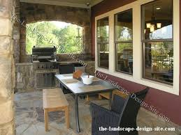 outdoor kitchen patio design
