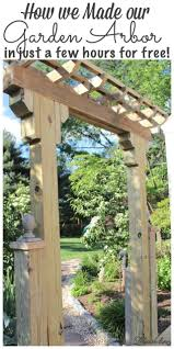 best 25 wooden arbor ideas on pinterest garden arbor wooden