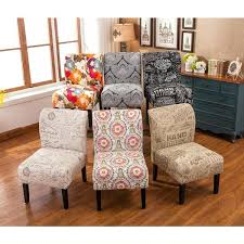 Contemporary Accent Chairs For Living Room Armless Accent Chairs Living Room Fabric Contemporary Accent