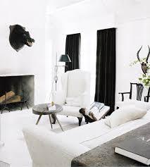 Black Curtains For Bedroom Black Velvet Curtains Eclectic Living Room Darryl Carter