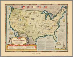 United States Civil War Map a map of the united states showing boundaries at the close of the