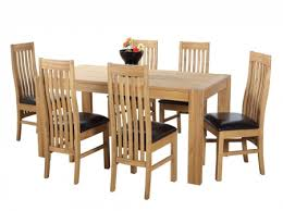 solid oak dining table and 6 chairs solid oak extending dining table and 6 chairs sl interior design