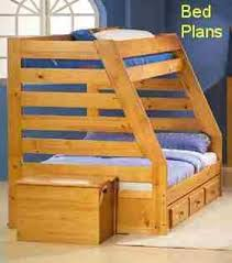 Double Twin Loft Bed Plans by 19 Best Bunk Beds Images On Pinterest 3 4 Beds Bunk Bed Plans