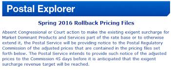 usps rates decrease april 10 with exigent rollback fp mailing
