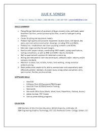 Entry Level Chemist Resume Julie U0027s Resume U0027 Oct 2015