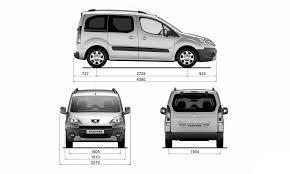peugeot partner 2005 peugeot partner blueprint download free blueprint for 3d modeling