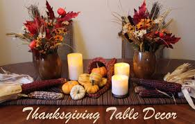thanksgiving decoration modern magazin thanksgiving table