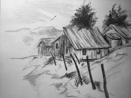 How To Draw Landscapes by Draw Landscape Step By Step Draw Landscape Stepstep How To Draw A