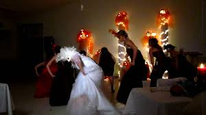 halloween wedding thriller youtube