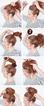 sock hair bun sock bun hacks tips tricks how to wear hair up in donut