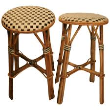Ka Bistro Chair Great Pair Bistro Stools At 1stdibs