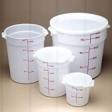 Cambro Round Food Storage Container Sets - cambro rfsc6 148 cover for 6 u0026 8 quart round storage container