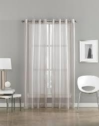 Sheer Grommet Curtains Milos Sheer Grommet Curtain Panel Curtainworks Com Serenity