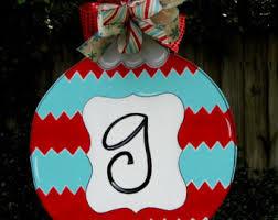 ornament door hanger door hanger
