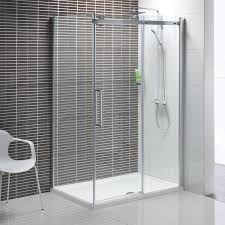 patterned glass shower doors sliding glass doors in bathroom interiors decorideasbathroom com