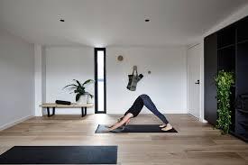 townhouse in australia hides minimalist yoga studio freshome com