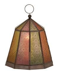home decor lanterns pink yellow green metal glass lantern candleholder boho home decor