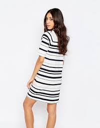 french connection french connection joshua stripe dress