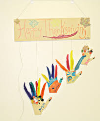 thanksgiving crafts diy hanging turkey hands