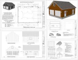 gambrel e2 80 93 rv garage plans g524 20 x 24 10 barn pdf and dwg
