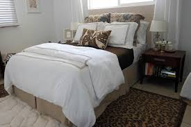 Guest Bedroom Bedding - essentials of a cozy guest room sequins at breakfast