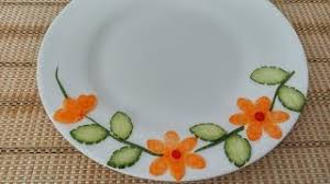 Plate Decorating Ideas For Desserts Plate Decoration Ideas Youtube Downloader Online
