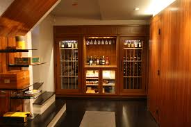 small wine rooms and wine closets