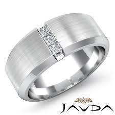 mens wedding rings cheap jewelry rings white gold ribbed mensg band fdmg7b 6mm nl wg men