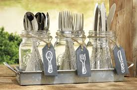 home essentials jar caddy w chalk tags everythingkitchens