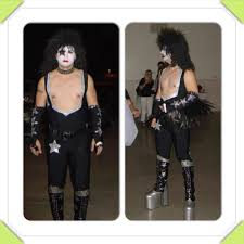 Paul Stanley Halloween Costume Kiss Transformation Paul Stanley Starchild Rock Band