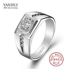 silver wedding rings images Big promotion fine jewelry men ring 925 sterling silver wedding jpg