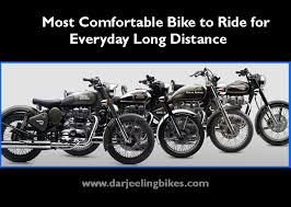 most comfortable bike to ride for everyday long distance bike rental