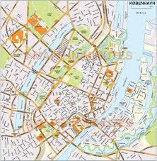 map of copenhagen vector copenhagen københavn city map in illustrator and pdf
