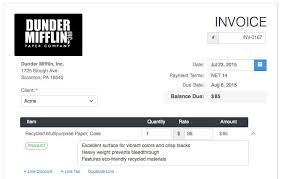 example of a invoice what is an invoice