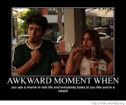 Memes For Conversation - awkward conversation thefunnyplace