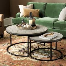 Ballard Designs Patio Furniture August Nesting Coffee Tables Set Of 2 Ballard Designs