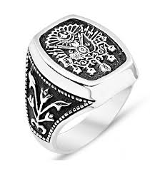 Ottoman Seal Ottoman Seal Silver Ring From Turkstyleshop Silver Jewelry