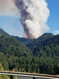 Fire Map Oregon by Eagle Creek Fire Wikipedia