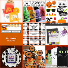 halloween drink names halloween printables cute to creepy fun for all ages