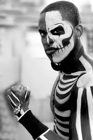 Skeleton Face Paint For Halloween by Free Images Black And White Halloween Scary Cool Glasses