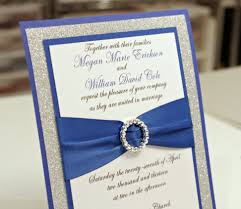 royal blue quinceanera invitations royal blue quinceanera