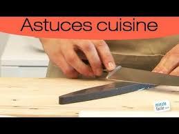 comment aiguiser un couteau
