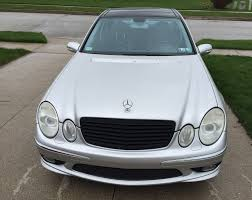 2005 mercedes e55 amg silver pano 137k 15 5 obo mbworld org forums