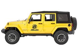 yellow jeep wrangler unlimited bestop 75152 15 powerboard sidesteps for 07 17 jeep wrangler