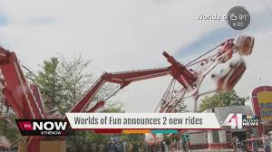 new rides coming to worlds of in 2017 kshb 41 news
