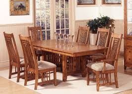oak finish casual dining room table w options