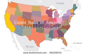states canada map canada map states stock images royalty free images vectors