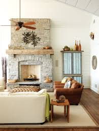 muskoka cottage decor stone fireplaces room and living rooms