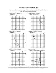 translations geometry worksheets area of squares and rectangles